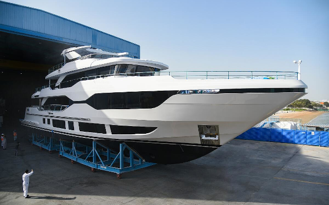 Gulf Craft Launches The Marvelous 37-Meter Tri-Deck Majesty 120