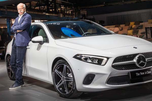 World Premiere of the New Mercedes Benz A-Class
