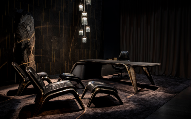 Exquisitely Dark & Opulently Gold Collection To Wow At Salone Del Mobile Fair
