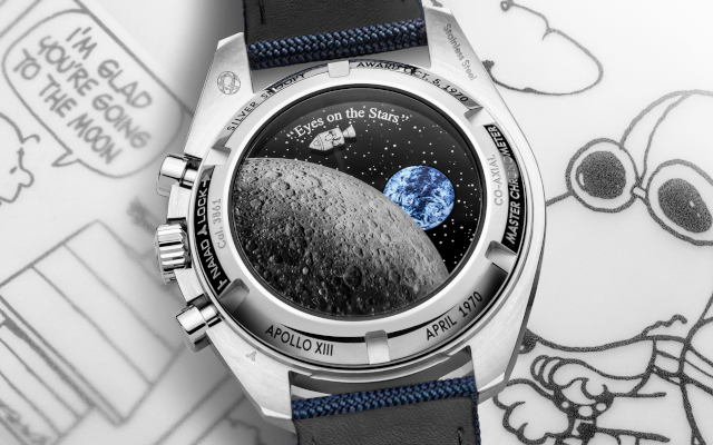 "Speedmaster ""Silver Snoopy Award"" 50th Anniversary Aims For The Stars"
