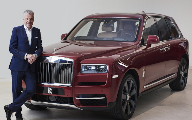 Rolls-Royce CEO Lauded At European Automotive Industry Awards