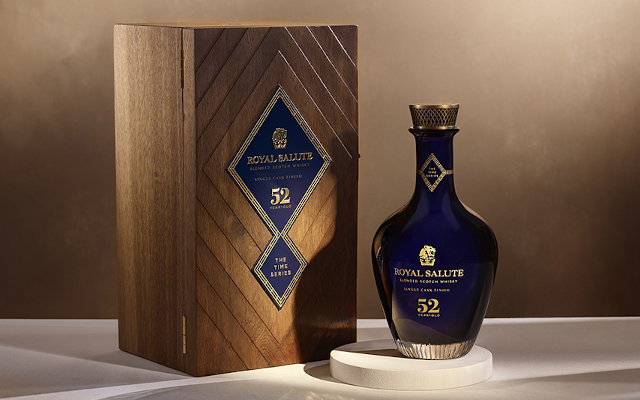 Royal Salute Releases The Impeccable, Ultra-Exclusive 52 Year Old Single Cask Finish