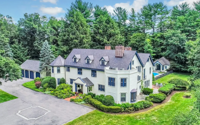 Historic Estate Set Amidst 13.4 Wooded Acres Lists For US$12,500,000