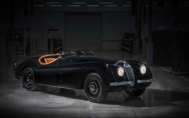 Jaguar Classic's Bespoke XK120 Is The Definition Of Suave Ingenuity