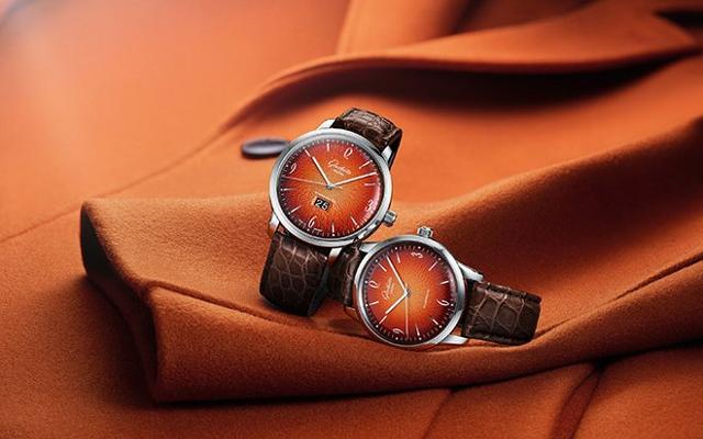 A Spectacular Timepiece Design In Fiery Orange