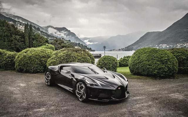 Bugatti's Beautiful La Voiture Noire Wins At Concorso D'eleganza