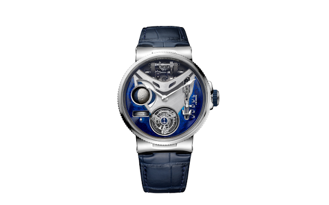 Marine Mega Yacht Is A Special Edition Platinum Marvel By Ulysse Nardin