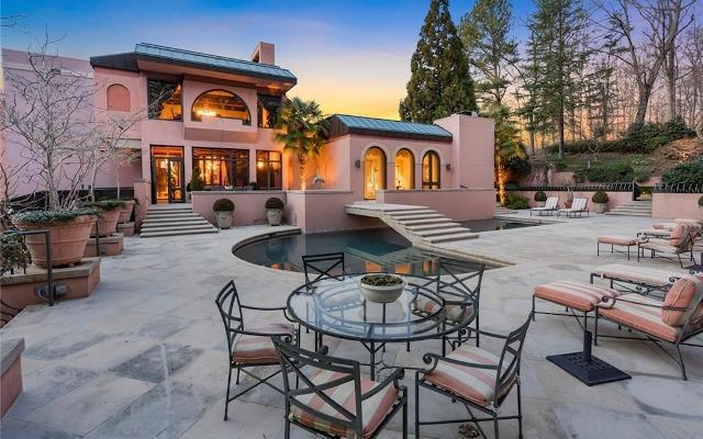 Expansive Buckhead Mansion Is An Art Deco Masterpiece (For $4.150 Million)