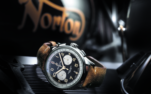 Breitling Celebrates The Premier Norton Edition In Style