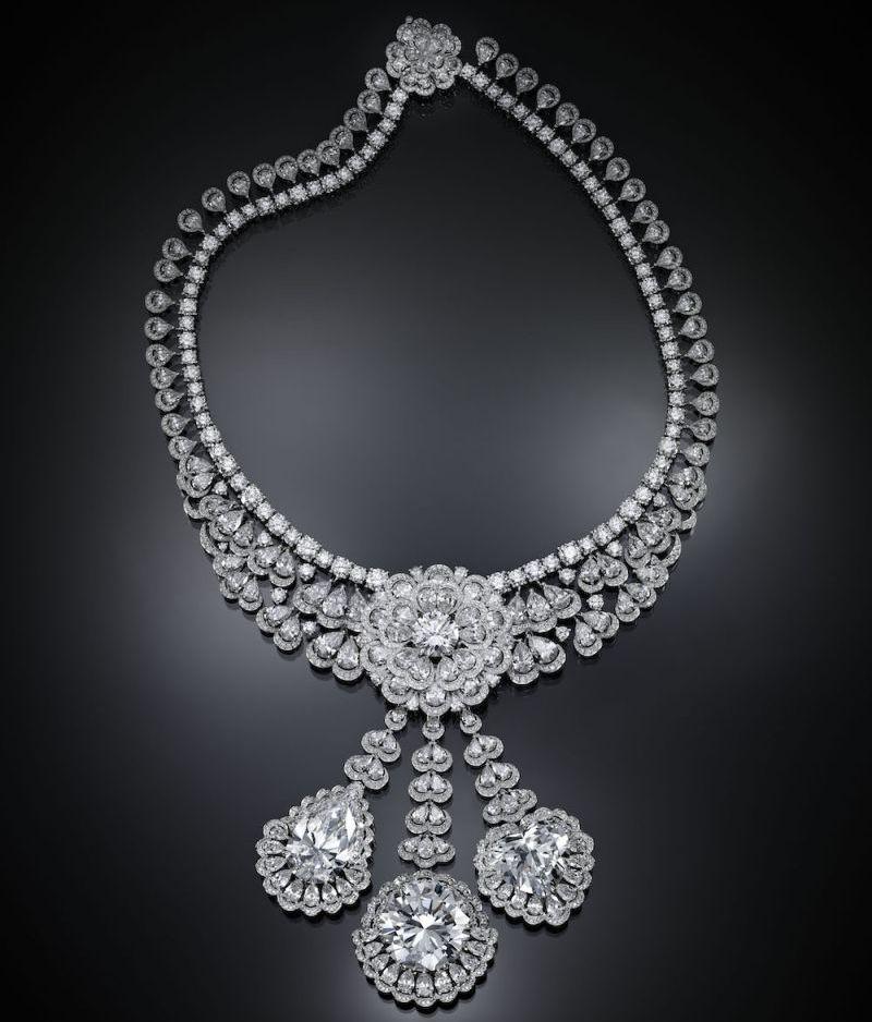 Chopard, Queen of Kalhahari, Collection exceptionnelle de diamants, collier