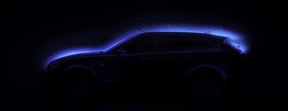 Blacklight: Jaguar F-Pace Gets Innovative New Paint Job