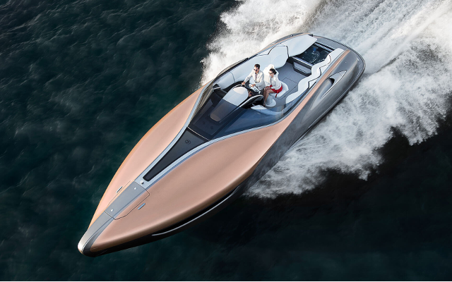 Sleek, Stylish, Speedy: Lexus Sport Yacht