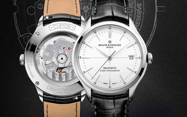 Baume & Mercier Unveils the Clifton Baumatic