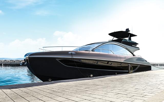 Lexus LY 650: Relentless Seafaring Luxury