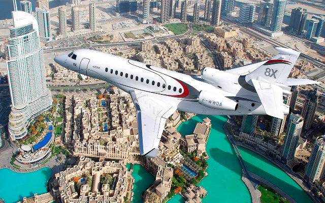 Dassault's Falcon 8X Is The New Standard In Long-Haul, Private Luxury