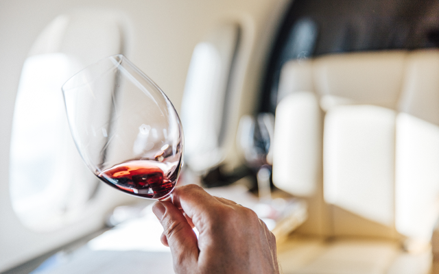 VistaJet Unveils The First 'Wine in the Air' Global Program