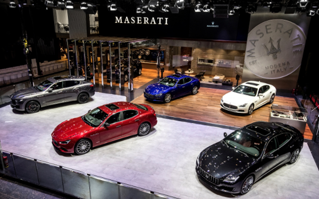 A Celebration of Maserati GranLusso and GranSport at Auto China 2018