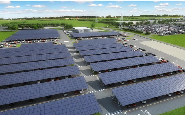 Bentley Motors to Construct UK's Largest Ever Solar-powered Carport