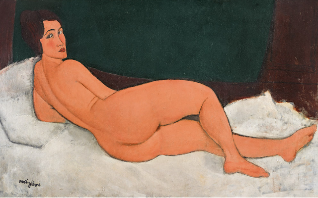 Modigliani 1917 Masterpiece Shatters Auction Records