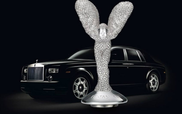 The World's Most Expensive Hood Ornament Dazzles