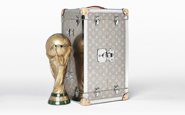 World Cup Trunk Coming Home to Louis Vuitton!