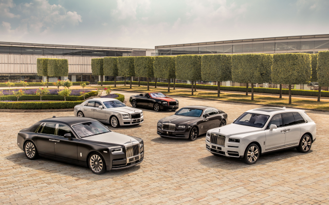 2018's Been a Stellar Year for Rolls-Royce So Far