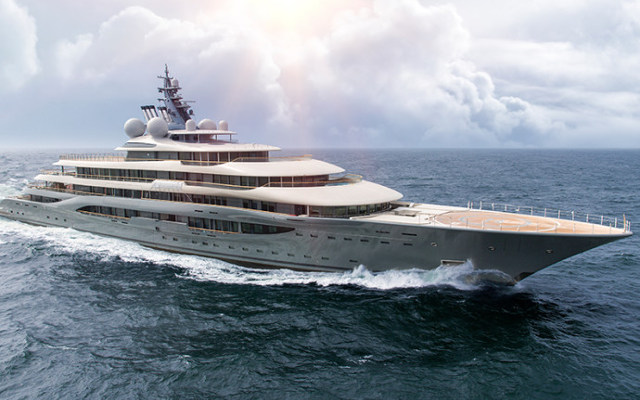 Lürssen's Newest Yacht Completes Its Final Sea Trials