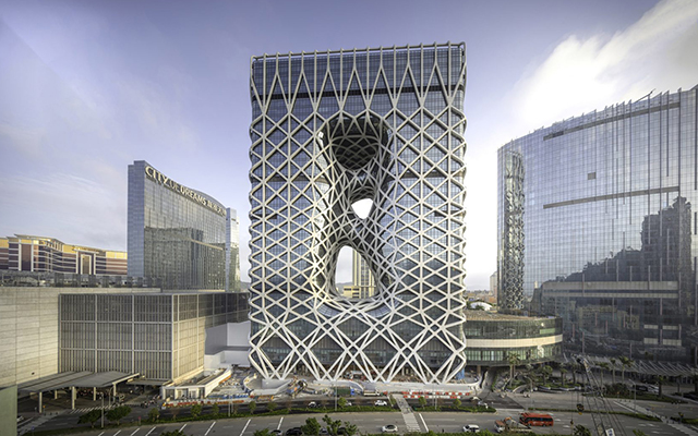 Morpheus Hotel is a Geometric Wonder to Behold